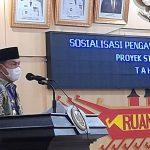 Bupati Lampura Sambut Baik, Pengawalan dan Pengamanan Program PTSL