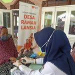 Peduli Lansia, Rumah Zakat Berikan Layanan Kesehatan di Sukajaya Lempasing