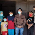 Polres Mesuji dan Polsek Tanjung Raya Raya Evakuasi Keluarga Tumino Dari PT SIP