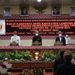 Paripurna HUT Provinsi Lampung ke-57 di Lambar Molor