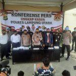 Tekab 308 Polres Lampura lumpuhkan tersangka Spesialis Curanmor lintas Provinsi