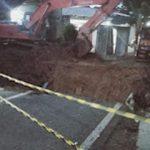 Hujan Deras, Jembatan Jalan Pajajaran Putus Total