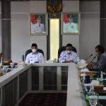 Kunjungi Lampung Barat, Staf Menkopolhukam Minta Data Penanganan Covid 19