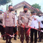 """Kapolda Lampung Kunker ke Polres Lampura sekaligus resmikan lapangan tembak """"99 shooting range"""""""