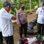 Polsek Pugung Identifikasi dan Berikan Bantuan Korban Kebakaran di Pekon Kayu Hubi