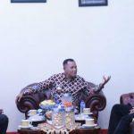 Silaturahmi dengan Bupati Lampung Selatan, Kepala Samsat Kalianda : Pemutihan Dimulai April 2021