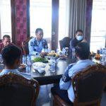 Jalin Koordinasi, Kepala Rutan Kelas I Way Hui Sowan ke Bupati Lampung Selatan