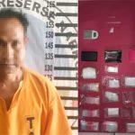 Gerebek Gubuk di Menggala, Polisi Tangkap Bandar Narkotika dan Sita Belasan Bungkus Plastik Klip