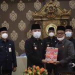 Ketua DPRD Way Kanan,Pimpin Paripurna Penyampaian LKPJ Kepala Daerah Tahun 2020