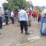 Bantu Perbaiki Jalan Rusak, Warga Kelurahan Kotabumi Tengah, Lampura Ucapkan Apresiasi