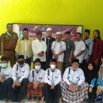Lurah SribasukiFaisal Abduh Kurnia, S.IP., M.M,. ApresiasiMahasiswa KKN Unila Tahun 2021