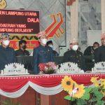 Bupati Lampura Hadiri Paripurna Istimewa Peringatan Hari Jadi Provinsi Lampung ke-57 Tahun 2021