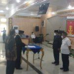 Staf Ahli Bupati Lampura, Kukuhkan Tim Percepatan Akses Keuangan Daerah
