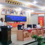 Sekdakab Lampura Membuka Acara Sosialisasi Pelaporan IID Tahun 2021