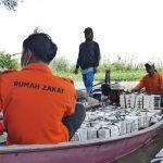 DKM Kantor Pusat Bea Cukai Bantu 1000 Makanan Siap Saji untuk Korban Banjir Bekasi