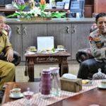 Kapolda Irjen Pol Hendro Sugiatno Anjangsana Ke Kantor Gubernur