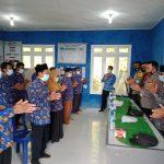 Kapolsek Padang Cermin Resmikan Desa Munca Sebagai KTN