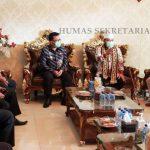Jelang Penyerahan Sertifikasi Aset Pemda, Gubernur Arinal Terima Kunjungan Direktur Koordinasi dan Supervisi Wilayah II KPK RI