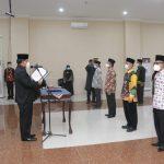 3 Pejabat Administrator & 10 Pejabat Pengawas Pemkab Pringsewu Dilantik