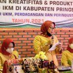 Dekranasda Dan Diskoperindag Pringsewu Adakan Pelatihan IKM