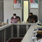 Kunjungan Kerja Ke Lampung Barat, Pj. Bupati Pesisir Barat, Bahas Kerjasama Bidang Transportasi dan Pariwisata