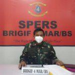 Brigif 4 Mar/BS mengikuti Diskusi Informal Satker Zona Integritas TNI AL.