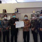 BPKAD Dan BPPRD Lampung Selatan Tandatangani PKS Dengan PT. Bank Lampung KC Kalianda