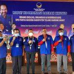 DPW NasDem Lampung, Target kan Partai Modern Berbasis Teknologi