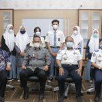 Wabup Pringsewu Terima Kunjungan Audiensi Pelajar Pelopor Keselamatan Berlalu Lintas