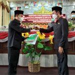 DPRD Lampura Gelar Rapat Paripurna Laporan Hasil Pembahasan Pansus LKPJ Bupati TA. 2020