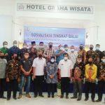 Dirjen SDA BBWS-MS Gelar Sosialisasikan P3TGAI Tingkat Balai di Hotel Graha Lampura