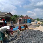 Desa Simpang Mesuji Walau Kondisi Vandemi Pembangunan Jalan terus