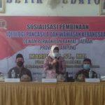 Mardiana,ST., MT. DPRD Provinsi Lampung Sosialisasi Ideologi Pancasila dan Wawasan Kebangsaan