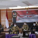 Pemkab Way Kanan,Ikuti Rakoor Kepala Daerah Hasil Pilkada Serentak 2020