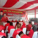 DPC PDI Perjuangan Tuba Gelar Rakercab II,Tetap Mengedepankan Prokes