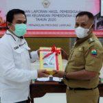 Kabupaten Lampung Selatan Kembali Raih WTP Lima Kali Berturut-turut
