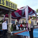 Bupati Mesuji Pimpin Giat Apel Gelar Pasukan Oprasi Ketupat Krakatau 2021