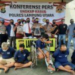 Jelang Lebaran Polres Lampura Ringkus Pelaku 3C Lintas Provinsi, 3 Diantaranya Diberi Timah Panas
