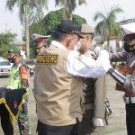 Wabup Pringsewu Pimpin Apel Gelar Pasukan Ops Ketupat Krakatau 2021