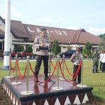 Amankan Idul Fitri 1442 H, Polres Lampura Laksanakan Apel Gelar Pasukan Ops Ketupat Krakatau 2021