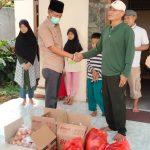 Tim KJB Lampura Kembali Berbagi dengan Kaum Dhuafa dan Anak Yatim