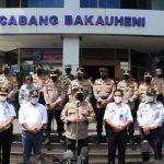 Wakapolri Komjen Pol Gatot Eddy Pramono Lakukan kunjungan Pantau Langsung Arus Mudik Dan jalur Transportasi ke PT. ASDP