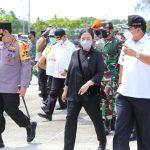 Sambut Ketua DPR RI Dan Kapolri Beserta Rombongan Para Menteri, Gubernur Sampaikan Kesiapan Dalam Pengendalian Transportasi Jelang Hari Raya Idul Fitri