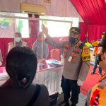Kapolres Lamsel Sambut Kedatangan Kapolri Dan Panglima TNI