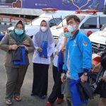 Genmud dan Gahora DPD Partai Gelora Indonesia Kota Bandarlampung Gelar Pembagian Takjil