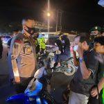 Sebanyak 218 Personil Polres Lampura Amankan Malam Takbiran