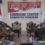 BUPATI PRINGSEWU IKUTI RAKOR KADA SE-INDONESIA SECARA VIRTUAL