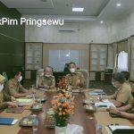 Wabup Pringsewu Pimpin Rapat Pembahasan Tata Kelola Pemerintahan Kelurahan