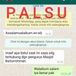 Waspada ! Modus Penipuan Melalui WhatsApp Palsu, Catut Nama Wabup Pringsewu