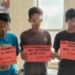 Curi Kotak Amal Tiga Pemuda Asal Natar Di Tangkap Polisi